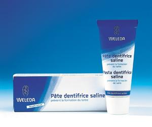 dentifrice-saline