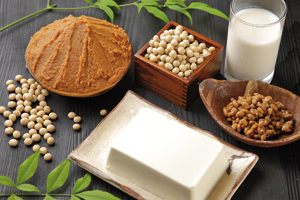 Soybean processed foods