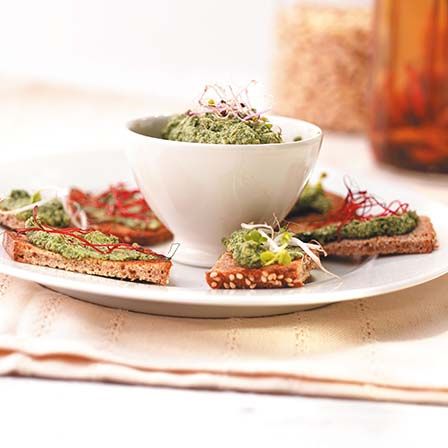 Graine-pesto-tofu