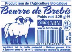 beurre-brebis