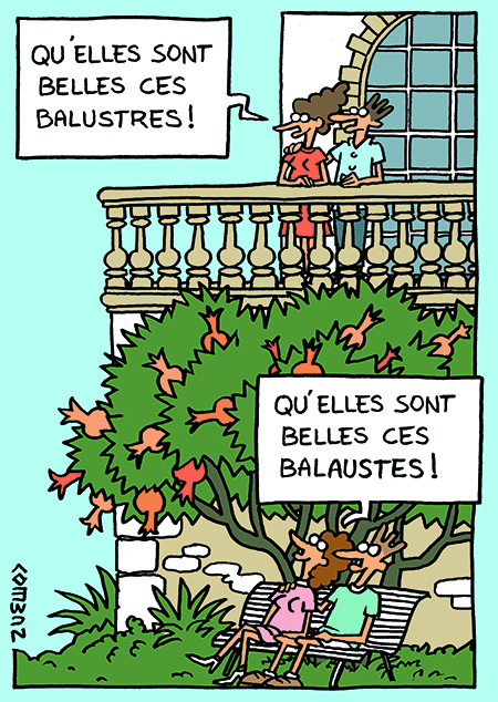 balustres
